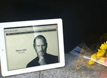 苹果员工自发悼念乔布斯