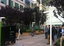 苹果总部异常安静