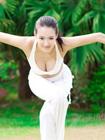 最性感瑜伽教练图片