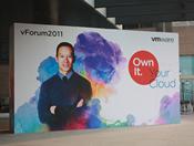 vForum 2011大会展板