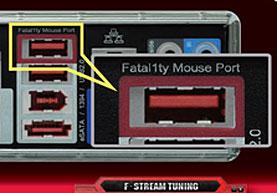 费特拉提鼠标接口