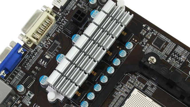 CPU供电部分