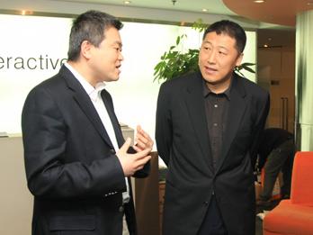 联想集团副总裁汤捷做客CBSI中国