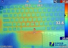 EK25EC表面温度测试