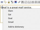 Chrome利用Google拼写检查技术进行改进