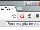 让Chrome进入特定域名 自动开隐身模式