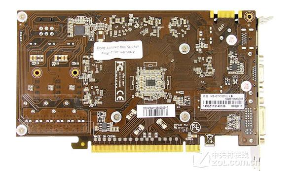 铭瑄GeForce GTX 550 Ti巨无霸
