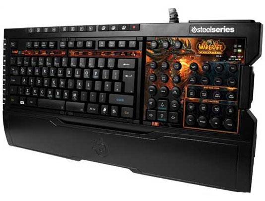 SteelSeries wow大灾变键盘