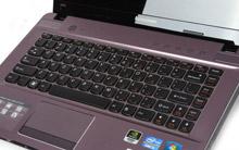 联想Z470紫色金属拉丝