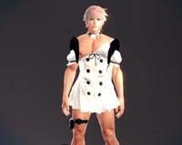 利斯塔穿着艾薇的套装卖萌