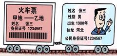 火车票二维码内藏玄机