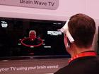 脑电波能控制电视?