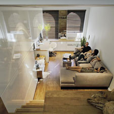 46平米内的奇迹 如何把公寓打造成家?