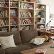 书籍与音乐作伴 晒简约实木风格新家装