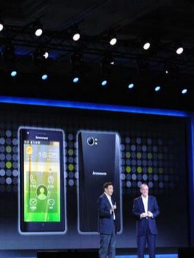 联想发布首款英特尔Atom智能手机