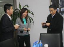 闪迪中国总经理到访