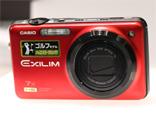 卡西欧魅力红色相机