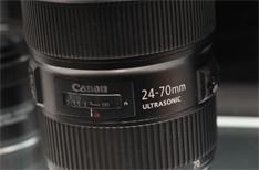 佳能展示新款24-70L II镜头