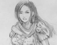 铅笔手绘菲欧娜