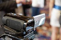 索尼小型化3D数码摄像机TD20E