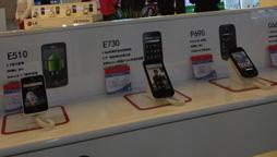 LG店面产品展示区