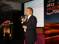 梭子鱼亚太区副总裁杨钦铭先生演讲