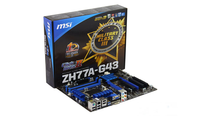 3.0主板来了! 微星新H77大板高清图赏