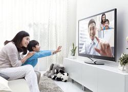联想智能电视视频通话聊天