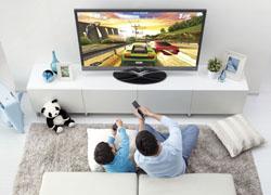 联想智能电视游戏赛车