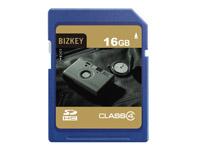 BIZKEY Class4 16GB SD卡