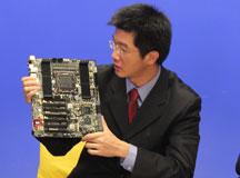 陈宇光先生展示华擎Z77