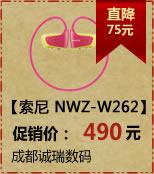 SONY索尼+NWZ-W262(2G)(粉色)