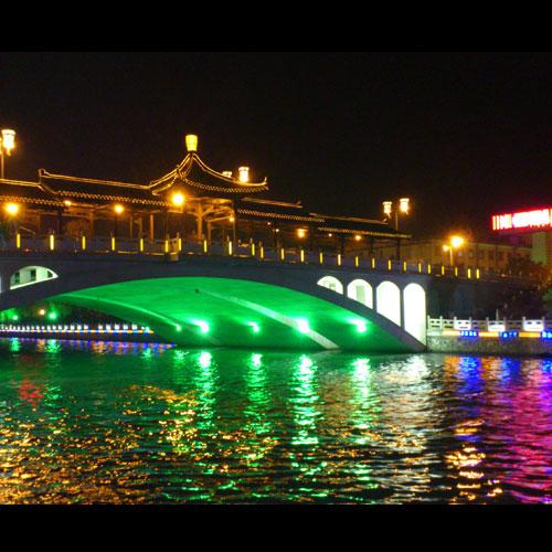 夜游扬州古运河