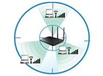 华硕独家Ai Radar技术提供最优化、最稳定的无线覆盖范围