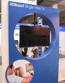 HDBaseT广告机