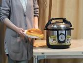 美女教你电压力锅做蛋糕