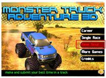 3D越野大卡车游戏大赛