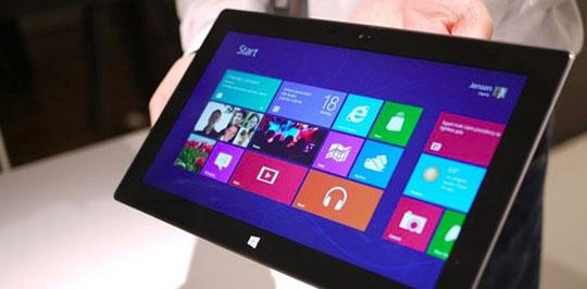 微软Surface平板或于10月26日前后发售