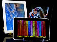 苹果二代屏、IPS屏和普通屏显示效果对比