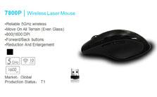 雷柏7800P无线鼠标