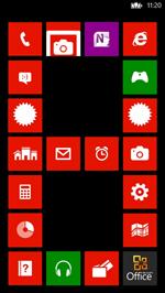 Windows Phone 8界面