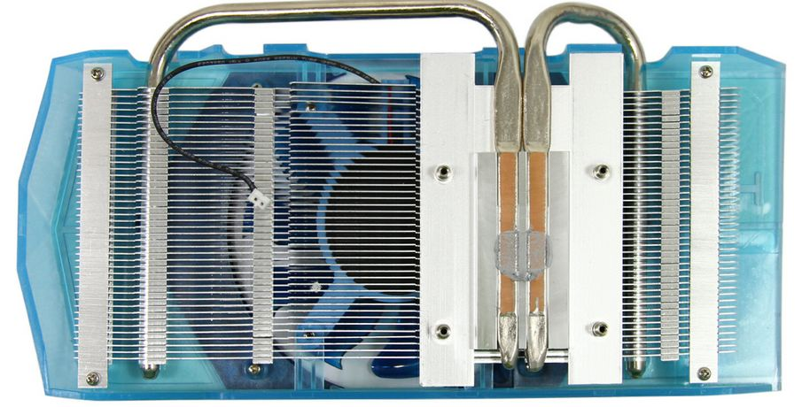 HIS 7750 1G冰立方超频版