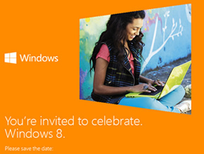微软10月25日正式发布Win 8