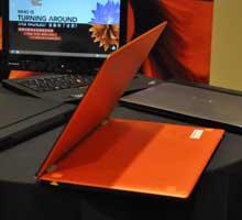 联想Yoga 13橙色版亮相