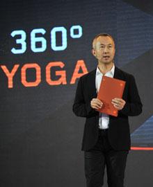 姚映佳副总裁现场展示Yoga