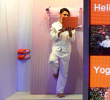 IdeaPad Yoga13可以自由翻转360°