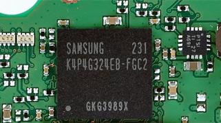 板载256MB LPDDR2-1066缓存