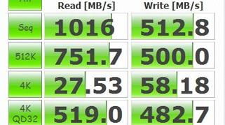 性能卓越 组RAID0速度狂飙千兆每秒