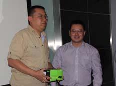 大奖得主与Acer嘉宾合影