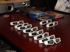 3D 1080p投影展示